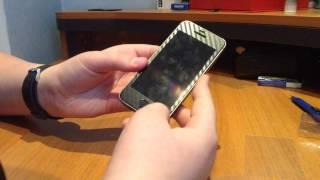 Обзор карбоновой пленки iPhone 5/5s