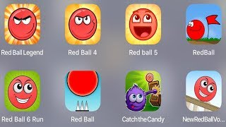Red Ball Legend,Red Ball 4,Red Ball 5,Red Ball Classic,Red Ball 6 Run,Red Ball,Catch The Candy