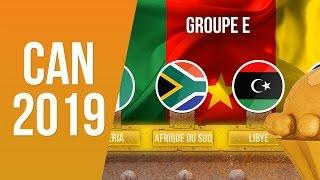 Groupes Des Éliminatoires de la CAN 2019