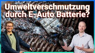 Was passiert mit den E-Auto Batterien? - Batterierecycling mit Duesenfeld