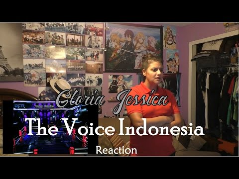 Gloria Jessica - A Sky Full Of Stars - Knockout - The Voice Indonesia 2016 - Reaction