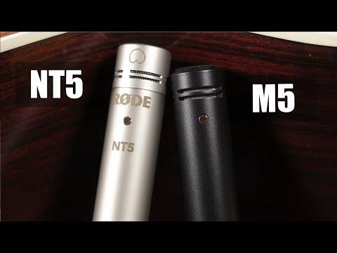 Rode Nt5 vs Rode M5 (acoustic guitar) (pt.1)