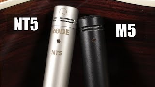 Rode Nt5 vs Rode M5 (acoustic guitar) (pt.1)