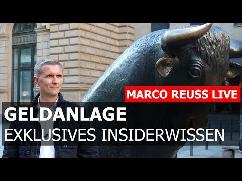 Sichere Geldanlage 2017 - Vortrag Marco Reuss in Bad Kissingen