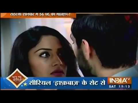 Ishqbaaz Kissing Video
