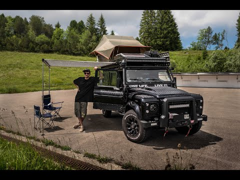 Land Rover Defender 110 Overland Vehicle build / Expedition Set-up - Walk around