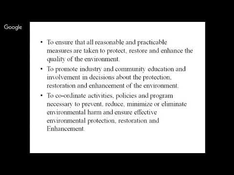 Environmental Legislation  by Mrs Himmi Gupta