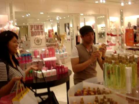 Jeff Pj And Bianca The Victorias Secret Store Youtube