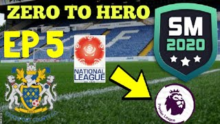 TITLE RACE?! SM20 ZERO TO HERO CHALLENGE - STOCKPORT COUNTY RTG EP5 | SM20 Beta |Soccer Manager 2020