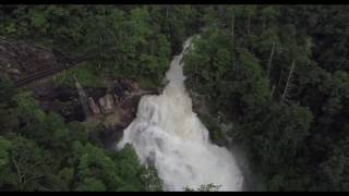 05 | 30 | 2018 - Cullasaja Falls by WNC Aerial Imagery