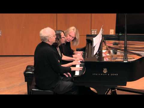 Fire,  For Three Pianists At One Piano, By Ting Ho