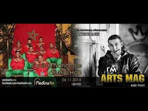 L'experience d'équipe national maroc de hip hop @ Prague @ radio Medina fm