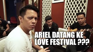 Surprise Untuk Ubay Nidji Waktu Latihan Love Fest!