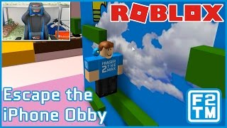HELP I AM TRAPPED INSIDE AN IPHONE!!! Roblox Escape the iPhone Obby
