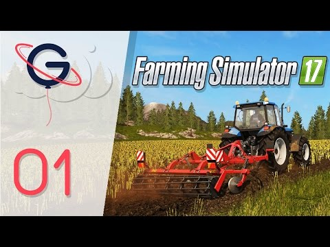 Farming Simulator 17 | Goldcrest Valley FR #1 : BIENVENUE A GOLDCREST VALLEY !