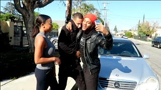 Chris Brown Confronts Karrueche & Soulja Boy!