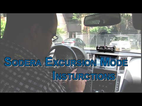 ComProbe Sodera Excursion Mode Instructions