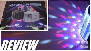 REVIEW: Amaz-Play Magic Effect Mini Led Stage Light