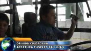 Desde hoy operan túneles de Av. Mariscal Sucre en la capital