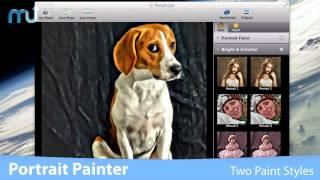 Portrait Painter Screencast - MacUpdate Promo