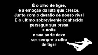 Eye of the tiger (Olho de tigre) -  Survivor - Tradução