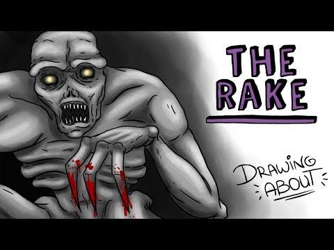 THE RAKE | Draw My Life | Creepypasta