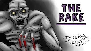 THE RAKE | Draw My Life | Creepypasta
