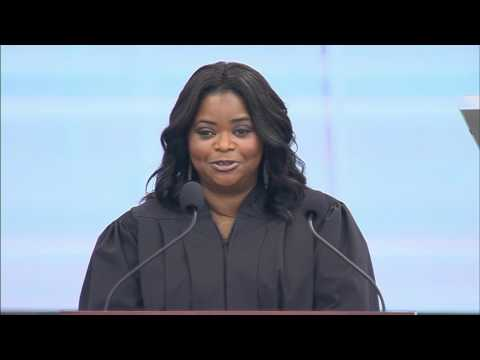 Octavia Spencer Speaks at Kent State University's 2017 Commencement