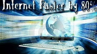 How To Make Your Windows 8 Internet 80% Faster!