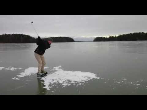 golf on ice youtube