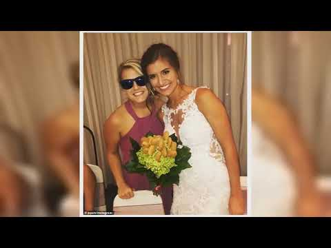 Maverick - Maid of Honor gifts bride with a bouquet made from Chicken Nuggets