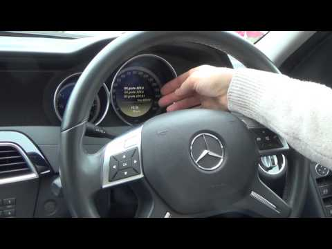 How to RESET the Service Indicator Light on a 2012 Mercedes Benz C Class W204 (and other models)