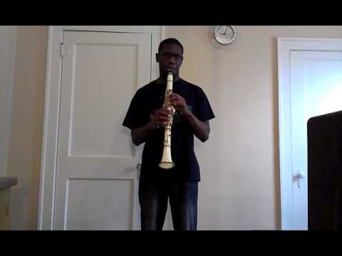 John legend all of me clarinet solo + cover