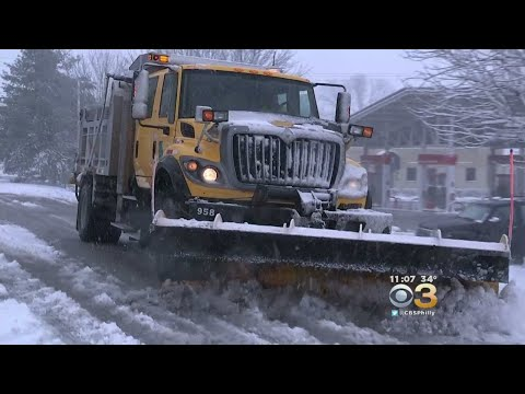 Nor'easter Brings Heavy Snowfall To Chester County