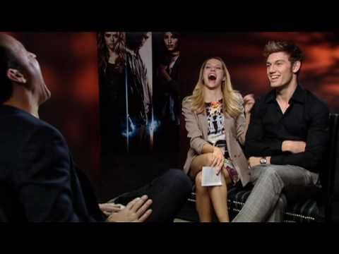 Alex Pettyfer, Teresa Palmer and DJ Caruso talk 'I Am Number Four'
