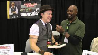 Ray Bonansinga co Author of The Walking Dead novels at WSC Dallas 2015  - Pt 1 of 2.
