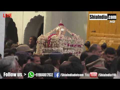 (Part5) 10th Muharram Bibi Ka Alam Procession 1439-2017-18