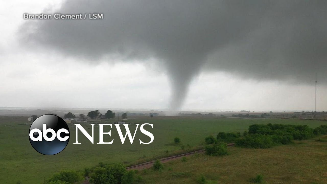 It's a dangerous day for tornadoes in Texas and Oklahoma