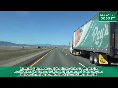 Interstate 5 in California: Exit 747 to Exit 786