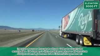 Interstate 5 in California: Weed to North of Yreka