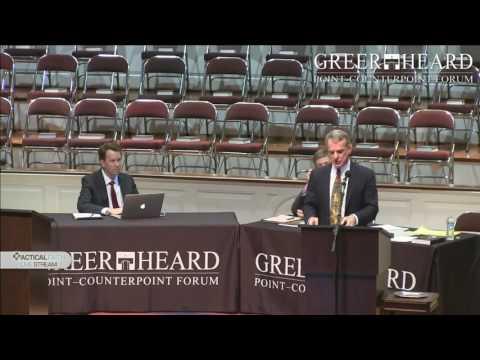Kalam Cosmological Argument - Dr. William Lane Craig vs Dr. Sean Carroll (Greer Heard Forum 2014)