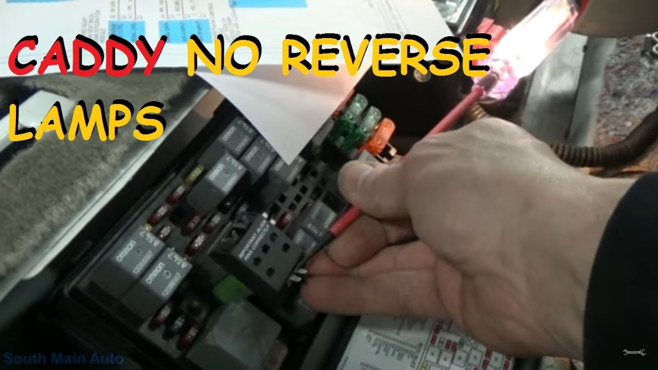 Cadillac - No Reverse Lights on