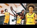 #1 8th Grader Mikey Williams NASTY POSTER DUNK!! Catches A BODY For Compton Magic!