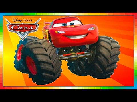 CARS - Mater National Championship - Hook International - Monstertruck - Lightning McQueen - McQueen