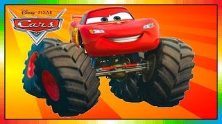 CARS - Mater National Championship - Hook International - Monstertruck - Lightning McQueen - McQueen
