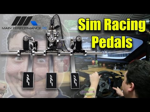 Most Realistic Racing Simulator Pedals - Sim Pedals by MPPC