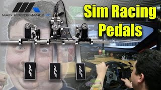 Reviewing Pro Sim Pedals w/ Hydraulic Brake by MPPC