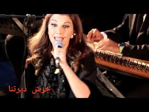 دخول ملكي للفنانه ماجده الرومي بحضور جمهور حاشد مهرجان جرش ٢٠٢١