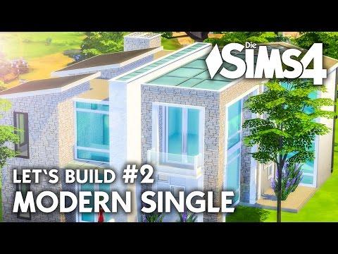 Die Sims 4 Haus Bauen Modern Single 2 Let S Build Deutsch