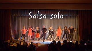 Сальса соло. Отчётный концерт Dance Studio 25.5